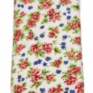Floral Cotton Tie Men's Multi-color Men's Cedar Wood State