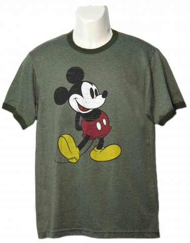 Men's Walt Disney World Mickey Mouse Ringer T-shirt Size S