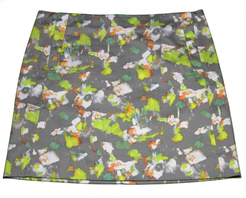 J. Crew Skirt Abstract Pattern Women's Size 4