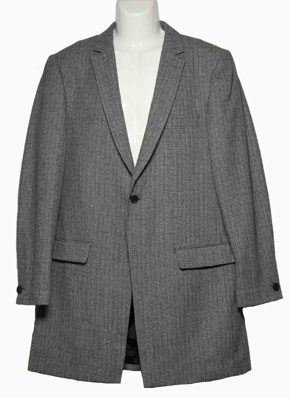 Cedar Wood State Car Coat Style Overcoat Gray Men's Size Slim L