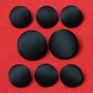 Calvin Klein Tuxedo Buttons Set Black Satin Men's