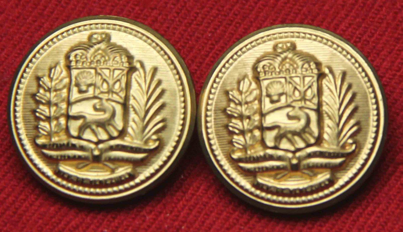 Two Mens Vintage Aldgate Blazer Buttons Gold Brass 1980s