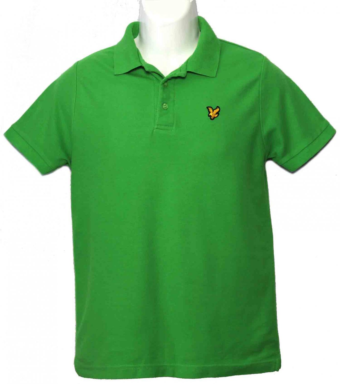 Lyle & Scott Polo Shirt Green Men's Size Small