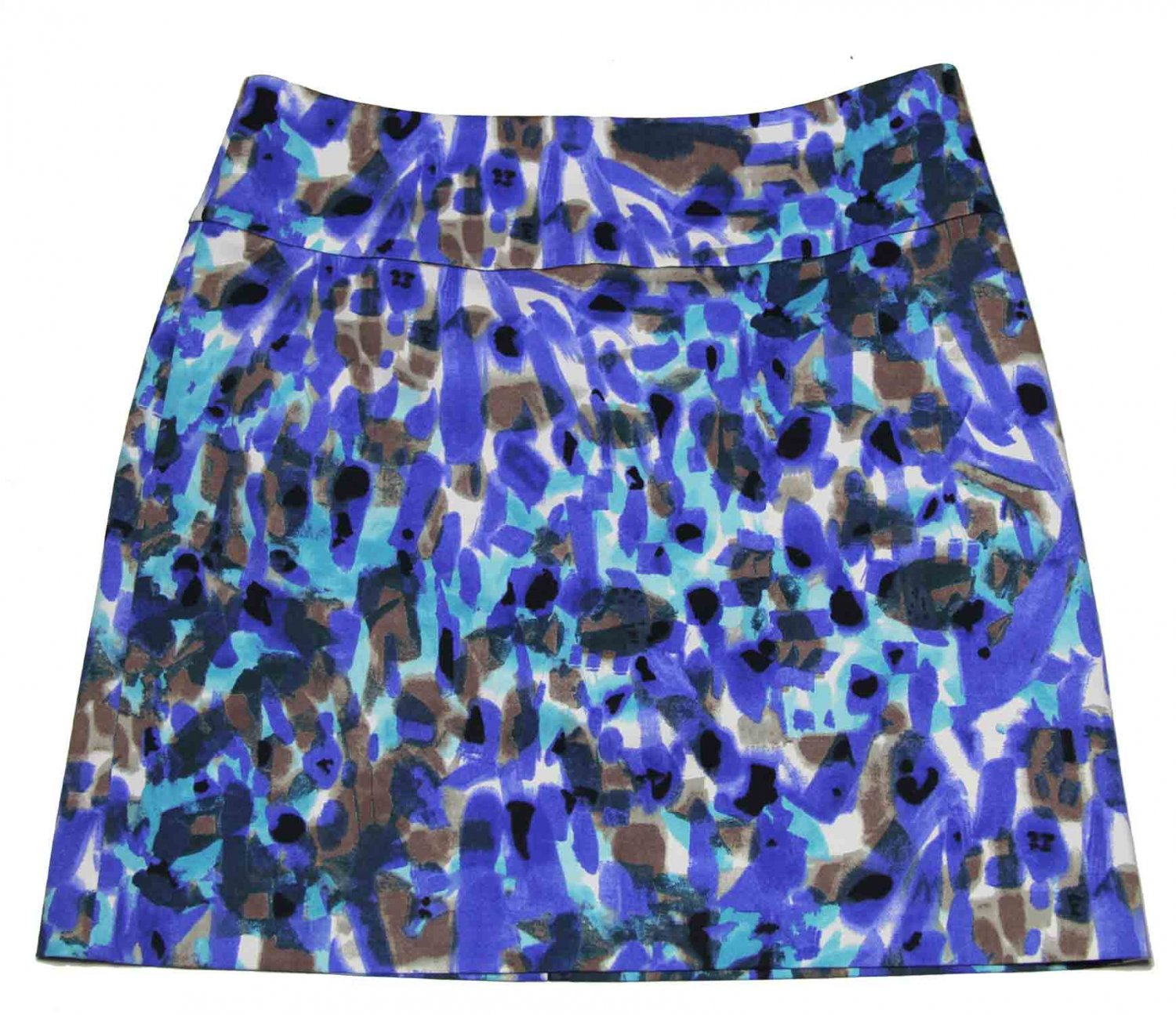 Ann Taylor Skirt Abstract Pattern Women's Size 6