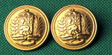 Two Mens Kingsley Blazer Buttons Gold Metal Shank