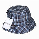 Mens Ben Sherman Plaid Cotton Bucket Hat Size S/M
