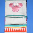 Two Disney Minnie Mouse Kitchen Tea Towels Cotton
