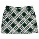 Women's Vineyard Vines Skirt Green Navy Blue White Size 2