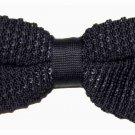 Mens Ben Sherman Black Bow Tie Pre-Tried Adjustable
