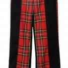 Women's Tartan Pants Trewscots Scottish Royal Stewart Size UK 12  USA 8