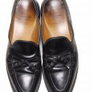 Mens Allen Edmonds Dress Shoes Grayson Tassel Loafers Black Size 9.5 B