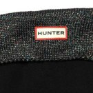 ONE Women's Replacement Hunter Tall Glitter Boot Sock Black Fleece US 8-10M