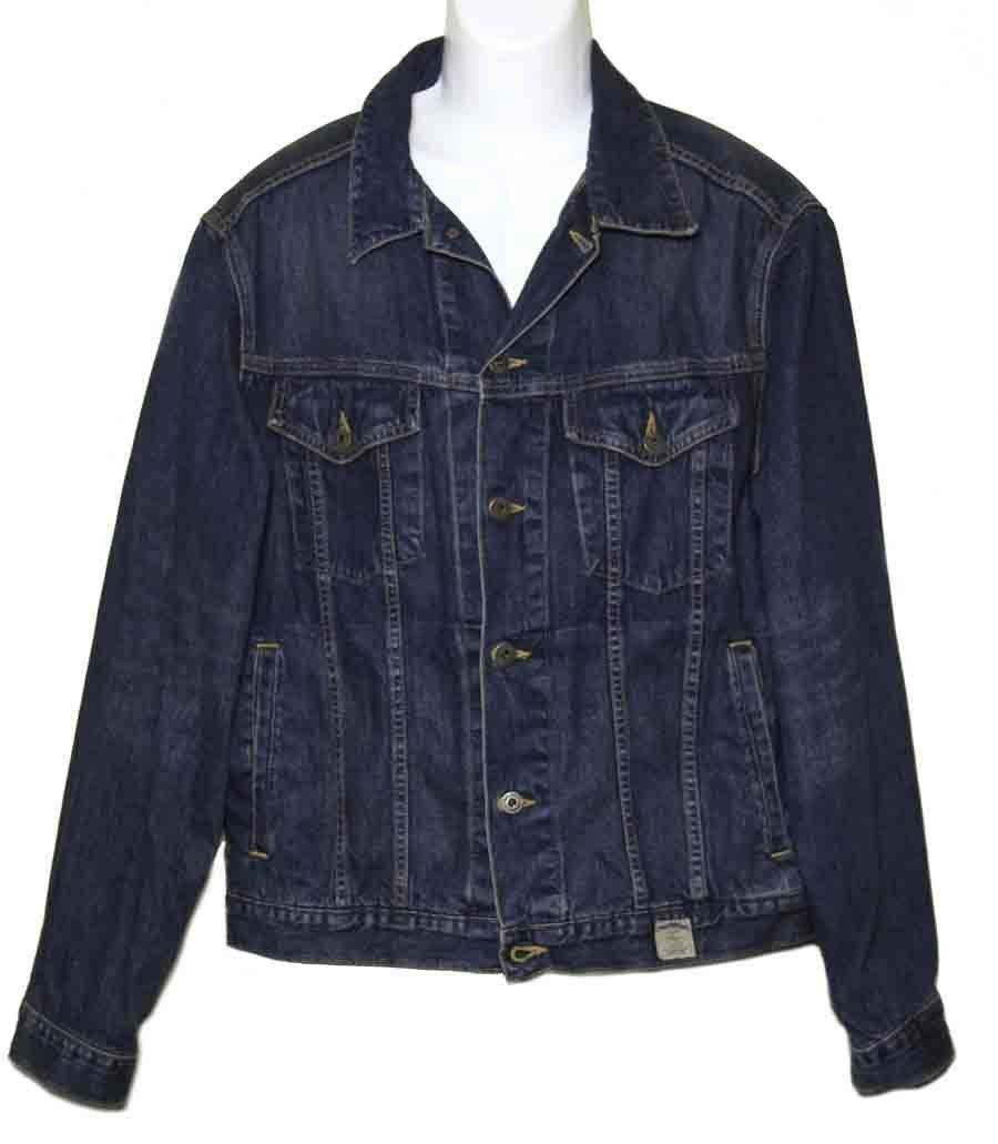 Abercrombie & Fitch Denim Jean Jacket Size Large