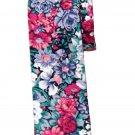 Gascoigne Floral Skinny Cotton Tie Multicolor Men's