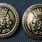 Two Mens Sir Thomas Moore Blazer Jacket Buttons Gold Black