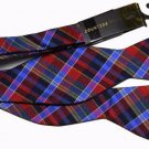 Countess Mara Bow Tie Multi-Color Plaid