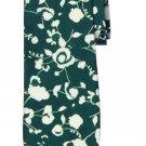 Cole Haan Tie Silk Cotton Green White Floral Men's