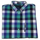 Lands End Sail Rigger Oxford Shirt Checks Men's Size XL