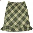 Ann Taylor Loft Plaid Skirt Size 6
