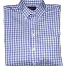 Charles Tyrwhitt Shirt Blue White Check Men's Size Small