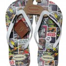 Mens Havaianas Star Wars Flip Flops Sandals Size 13