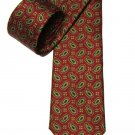 Vintage Brooks Brothers Tie Silk Red Green Blue Paisley Men's