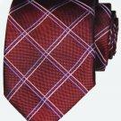 Thomas Pink Neck Tie Silk Red Pink Gray Men's