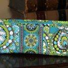 Women's Small Vera Bradley Floral Clutch Bag