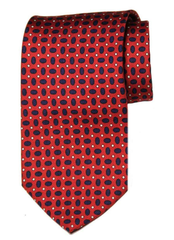 Brooks Brothers Silk Tie Red Black White Geometric Men's