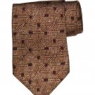 Vintage 1990s Donna Karan Silk Tie Men's Brownish Red Tan