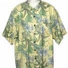 Tommy Bahama Silk Shirt Floral Men's Size XL