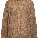 Levi's Vintage Western Shirt 1980s Plaid Men's Size Medium
