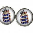 Gascoigne Denmark Coat of Arms Heraldic Cufflinks Men's
