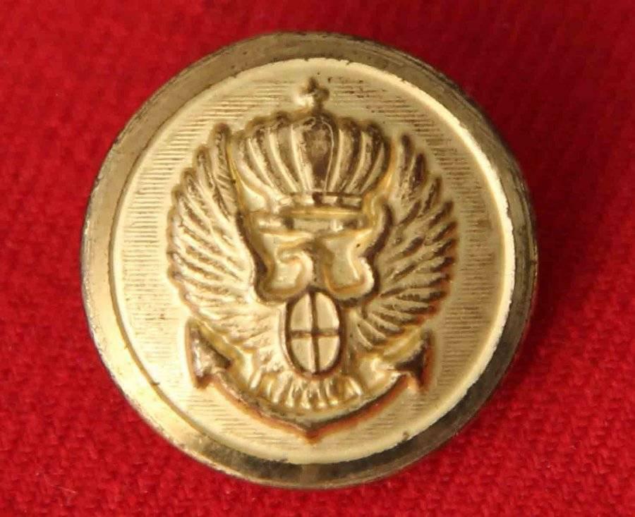 Mens Vintage Jos A Bank Blazer Button Gold Crown Eagle Anchor