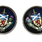 Gascoigne Scotland Forever Cufflinks Alba Brath Zinc Metal Alloy Men's