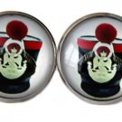 Gascoigne Handmade Military Hat Cufflinks Zinc Metal Alloy Men's