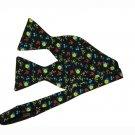 Thomas Pink Italian Silk Bow Tie Floral Adjustable Men's