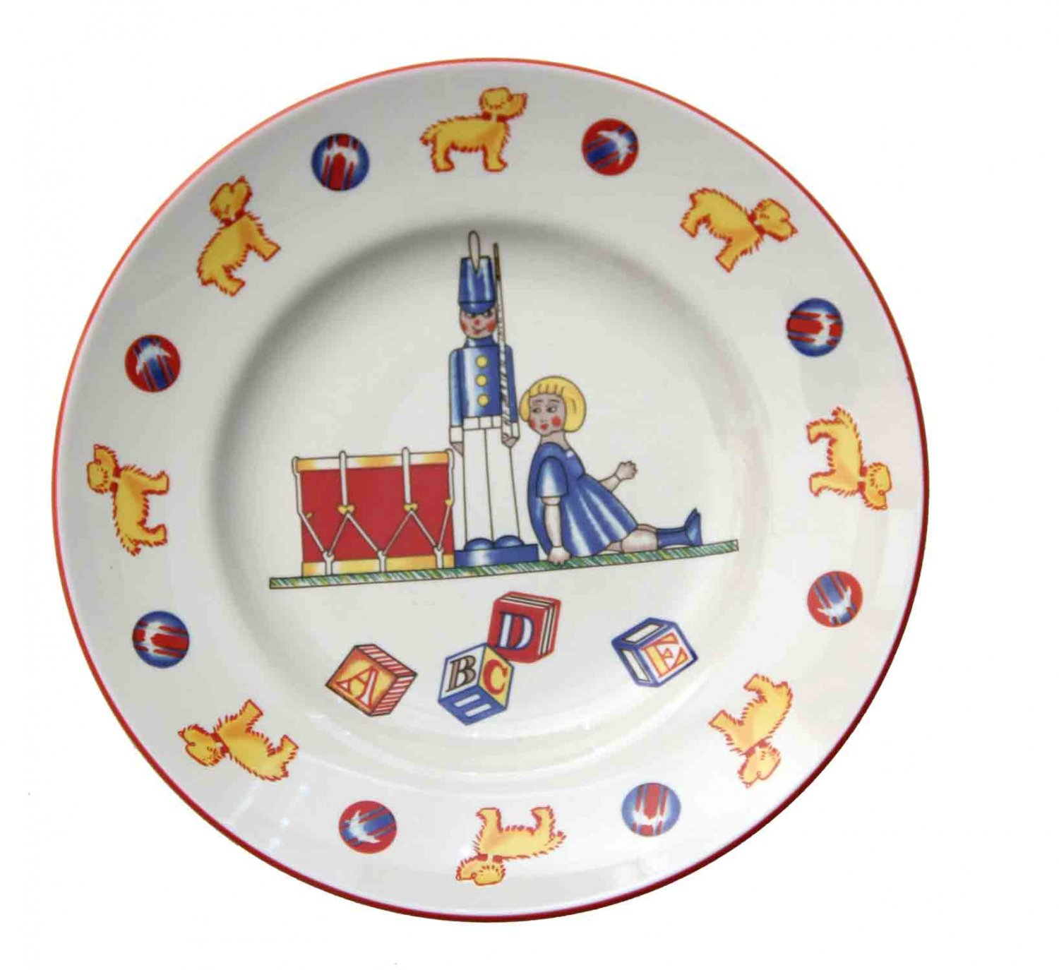 Tiffany & Co Toys Plate 7 Inches Porcelain