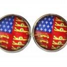 Gascoigne American Heraldry Cufflinks Heraldic Lions Fleur De Lis Men's