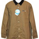 Columbia Rugged Ridge Flannel Lined Jacket Dark Khaki UPF 50Men's Size XL