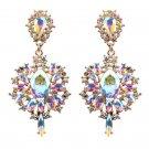 Bohemian Crystal Rhinestone Earrings Repro Vintage Women's
