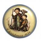 Berta Hummel Porcelain Plate The Guardian Angel Christmas 1974