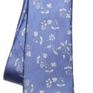 Tresanti Tie Silk Blue White Floral Men's Long