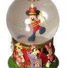 Disney Mickey Mouse 75th Anniversary Snow Globe Drum Major