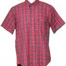 Vintage Gant Shirt Red Plaid Button-Down Men's Size Small