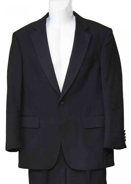 Jos A Bank Tuxedo Black Wool Men's Size 38S