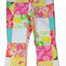 Lilly Pulitzer Cropped Capri Pants Multi-color Women's Size 8