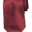 Ermenegildo Zegna Tie Silk Red Gray Men's