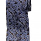 Brooks Brothers Tie Brown White Blue Paisley Silk Men's