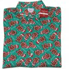 North Pole Trading Christmas Ginger Bread Man Shirt Men's Size Medium